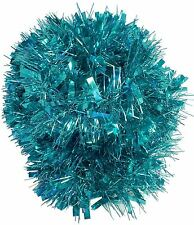 Luxury Turquoise 2m (6.5 Ft) Christmas Tinsel Tree Decorations Tinsel Garland