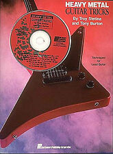 Learn To Play Metal Guitar TAB Music Book TROY STETINA