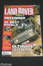 Land Rover World August 2005, Off Road Driving/Safari Gard Buggy/Group Test