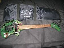 2001 Limited Edition STAR WAR BOBA FETT FERNANDES NOMAD Amplified Travel Guitar