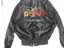Led Zeppelin  Embroidered Satin jacket 1980 - BRAND NEW-never worn Size 42