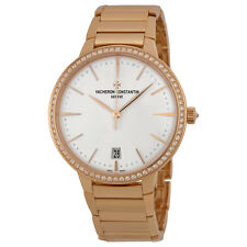 Vacheron Constantin Ladies Patrimony Automatic 18K Swiss Watch 85515/CA1R-9840