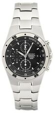 Seiko Titanium Chronograph Men's Watch and Grey Dial SND419P1