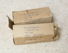 Western Electric 7A Ballast Lamp Tube Made in U.S.A. 1952 Tubes - Pair