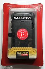 Ballisitic Tough Jacket Maxx Hard Shell Case w/ Clip For Motorola Moto E Black
