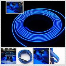 Blue 6.5ft Charge Panel Gap Decorative Atmosphere LED Cold Light Strip Fits Benz