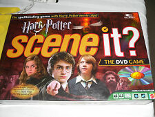 Harry Potter Scene It? dvd board game complete 2005 Mattel first Edtion