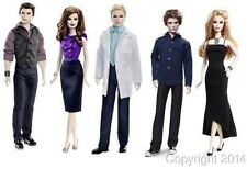 TWILIGHT Breaking Dawn Part 2 CARLISLE EMMETT ESME JASPER ROSALIE Barbie Dolls 5