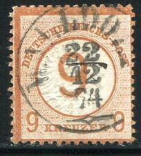 DR 1874 30 gest WALLDORF 22.12.74 SEHR SCHÖN 600€++(Z1981
