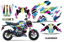AMR Racing Kawasaki Z125 PRO Graphic Kit Dirt Bike Decals MX Wrap 2017 FLASHBACK