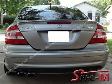 AMG Tail Wing Spoiler Painted Steel Gray For 2004+ W209 CLK350 CLK500 CLK55 CLK