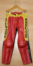 NOS MUSEUM QLTY CLICE BULTACO RACING LEATHER - RARE ISDT TRIALS AHRMA COLLECTOR