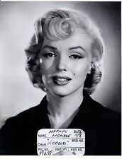 Marilyn Monroe makeup test