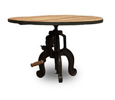 LIVING ROOM FURNITURE INDUSTRIAL FURNITURE IRON CRANK COFFEE TABLE (IF3)