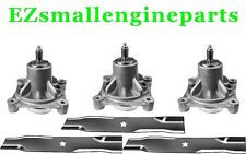 "BLADES & SPINDLES KIT FOR 48"" CRAFTSMAN DYT4000 - 174356, 532174356, 173921"
