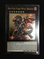 YUGIOH RED-EYES FLARE METAL DRAGON GOOD CONDITION UNL ULTIMATE CORE-EN054