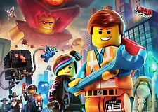 A4 LEGO MOVIE SUPERHEROES POSTER PRINT WALL ART