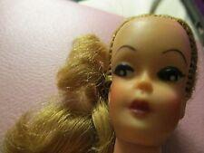"VTG UNEEDA ""U"" BARBIE CLONE DOLL 1960's LONG BLONDE HAIR PONYTAIL"