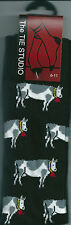 Farm Cows Dairy Vet Fresian Cowbell Unisex Novelty Ankle Socks Adult Size 6-11