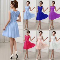 Women Sexy Formal Evening Party Cocktail Wedding Bridesmaid Short Prom Dress