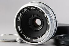 """Exc+++++"" Canon 25mm F/3.5 Lens for Leica Screw Mount LTM L39 From Japan A739"