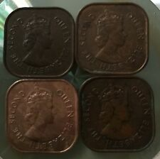 QEii complete set 4pc  coins (1956,57,58,61) high grade!