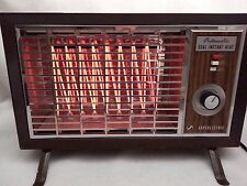 Vtg SUPERLECTRIC Space Heater 650 SUPERIOR ELECTRIC Automatic Dual Instant Heat