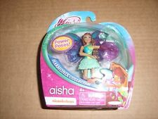 "Winx Club Aisha Harmonix Collection 3.75"" figure Fairy Nickelodeon Jakks Pacific"