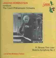 Jascha Horenstein conducts the Czech Philharmonic Orchestra New CD