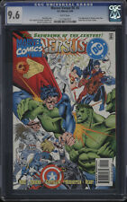 Marvel Versus DC #3 CGC 9.6 WP 1st App Amazon Dark Claw Spider-Boy Super Soldier