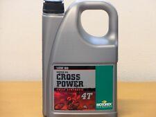15,38€/l Motorex Cross Power 4T vollsyn 10W/60 4 Ltr