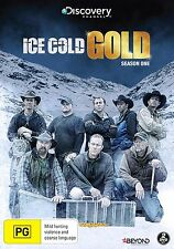 ICE COLD GOLD - SEASON 1 - DVD - & UK Compatible -Sealed