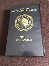 VHS Tape (Famous Warplane) Boeing B-17 Flying Fortress and Avro Lancaster