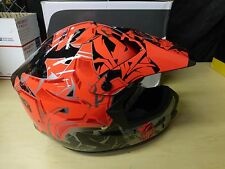 HJC Red/Black/Gray CS-MX 2 Graffed MC-1 Helmet Size 2XL
