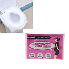 Toilet Paper Seat Cover Sit Safe Disposable Travel Camping Purse Size 10 Sheets