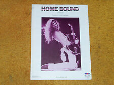 Ted Nugent sheet music Home Bound 1977 5 pages (VG+ shape)