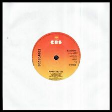 """BOZ SCAGGS - What Can I Say / Harbor Lights - UK SG 7"""" CBS 1976 - Single 45 rpm"""