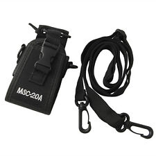 MSC-20th Walkie Talkie For Yaesu Icom Motorola GP328 CB Radio Case Holster