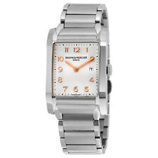 Baume and Mercier Hampton Milleis Steel Midsize Watch MOA10020