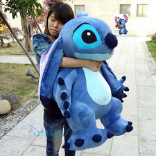 Giant Hung Lilo & Stitch toy Stuffed Plush soft Doll Pillow Valentine gift 35''