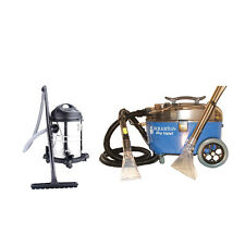 Aquarius Pro Valet Carpet Upholstery Cleaner & 15L 1200W Wet Dry Vacuum Kit