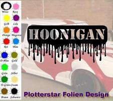 Hoonigan Schmelzen Bitch Hater JDM Sticker Aufkleber OEM Power fun like Shocker