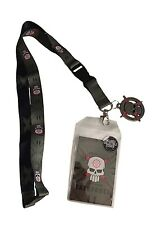 DC Suicide Squad Movie Task Force Lanyard ID Holder  W Metal Charm and Sticker