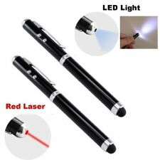 4-in-1 Touchscreen Stylus, Ballpoint Pen, Laser Pointer and LED Light