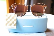 100% AUTHENTIC KAREN WALKER MARGUERITE ROSE GOLD Sunglasses- *LIMITED EDITION*