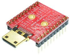 HDMI mini Type C Male socket Breakout Board, adapter,  eLabGuy HDMI-CM-BO-V1A