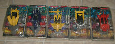 RARE JIDA CRUSH GEAR ACTION FIGURE 5 VEHICLE SET BANDAI  JAPANESE MIB FREE S/H