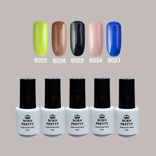 5 Flasche BORN PRETTY Soak Off One-step Gel 5ml Nagellack 6022/26/29/34/37