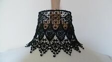 Black Venise Lace Choker Victorian Necklace Medieval Pagan Steampunk Gothic Lace