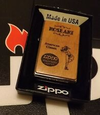 Zippo  Chestnut Roseart Lighter Windy Girl American Classic Two Panel Sealed 16